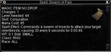 Gaudric Stormwynd Swarm of Pain Spell Quest - Gunthak